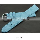 Inquiry about Fashion Fake Leather Crocodile Pattern Watch Band Wrap Strap Blue and Red