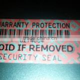 retail security labels