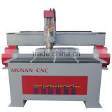 High effiency 3kw spindle motor linear guideway automatic tool changing cnc cnc wood carving machine