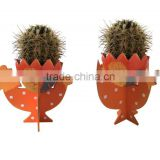 Easter Wooden hen flower pot holder decoration easter wooden flower pot base for home decoration