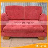 100% Polyester Super Soft Coral 0.5Mm Thickness Elastic Woven Embossed India Sofa Velvet Fabric