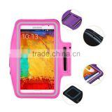 Top Quality Hot Selling Outdoor Waterproof Running Neoprene Reflective smartphone armband
