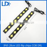 DC 12V 100% Universal night driving light Waterproof Auto Car Slim DRL COB Driving Day lamp for Toyota, Honda, Audi, BMW