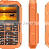 Best waterpoor, dustproof, dropproof military rugged mobile phone S16-1 with GPS & walkie talkie