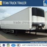 CIMC 30ft,40ft 45ft 48ft 53ft refrigerated semi trailer 2 Axles / 3 Axles refrigerator semi trailer