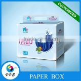 VVE customized baby diapers packaging box made in china