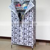 Cheap folding wardrobe where to buy wardrobes (FH-CS0507)