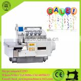 Direct Drive High Speed Cylinder Bed Top And Bottom Feed Industrial Overlock Sewing Machine 4 Thread CS-EX1