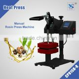 Mini Swinger Rosin Press, double heater heat press type rosin press