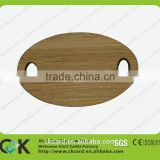 Bamboo Card! Laser cutting wood wristband with chip from gold supplier
