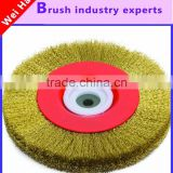 High quality particle packing machine brush, round brush, absorbent mechanical disc brush