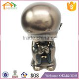 Factory Custom made best home decoration gift polyresin baby monk statue
