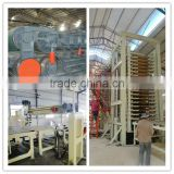 Full automation particle board making line/cutting machine