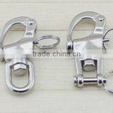 snap shackle for camera straps round ring
