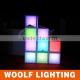led lighting square large retail display cabinets