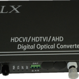 2channels 1920x1080P HD-TVI video+1ch RS485 fiber optical transmitter and receiver TVI PTZ camera to fiber converter