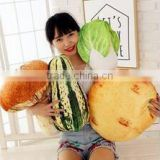 2017 fashion design Food simulation pillow,food shaped bolster