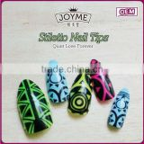 Joyme beauty stiletto acrylic nails nail art price new 2016 product idea fake finger nails art