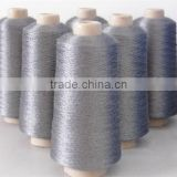 Stainless steel fiber yarn for conductive yarn thread