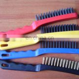 industrial wire brushes stainless steel wire brush yellow