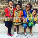 kids Children African Clothes Shirt Dashiki Print Boys Girl Dress Hippie Traditional-Kids-Dashiki-Boho-Tribal-Blouse S M L SIZE