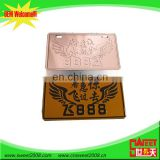 wholesale china merchandise acrylic license plates