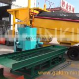 SINOLINKING Small Alluvial Gold Dust Processing Plant with Bucket Sluice Concentrator Gold Wash Equipment
