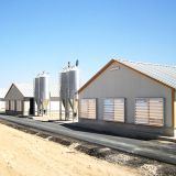 Complete Controlled Poultry Shed Farm building prefabricated housing steel structure Chicken House for sale