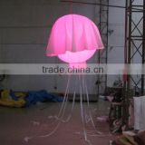 Beautiful inflatable jellyfish balloon lights LED party light jellyfish for decoration