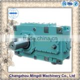 H/B Serial Helical /Bevel Gear box Parts Reducer With Engine motors for industrial sewing machine