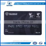 12 years professional custom pvc clear plastic busienss card cheap Printing Plastic Vip Card
