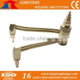 High Effective Flat Twin Head , Twiner Gas Cutting Torch For CNC Flame Cutting Machine