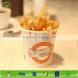Disposable french fries packaging paper cup french fry scoop                                                                         Quality Choice