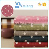 wholesale cheap high quality dots 100% cotton cambric printed calico fabric for Upholstery made in china