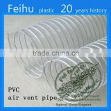 China high quality PVC Flexible ventilation hose pipe Clothes Dryer Parts flexible ventilation ducting pipe