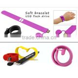 shenzhen alibaba express snap silicone usb bracelet / wristband usb pendrive / colorful wristband usb1gb 2gb 4gb 8gb 16gb