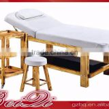 Beiqi Wholesale Price Beauty Salon Massage Bed Beauty with Wood Base Manicure Table for Barber Salon Furniture