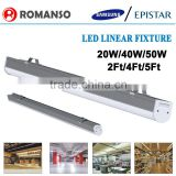 IP65 Waterproof SMD2835 3000K-6000K suspended lighting led linear luminaire 20w                                                                         Quality Choice