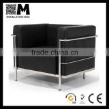 comfortable luxury leather furniture le Corbusier lc3 furniture sofa