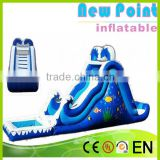 New Point inflatable water slides for summer,customize inflatable slide outdoor,inflatable water slides for kids