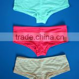 Women/girl Shadow stripe Panties neon colors panties