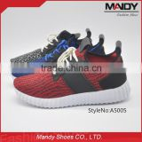 2016 Hot sale fashion mesh flyknit shoes sport running shoes men manufacturers                                                                         Quality Choice