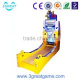 Canton fair electronic coin operated amusement bowling game machine