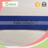 High tenacity retro blue fireproof reflective polyester webbing tape with English letters