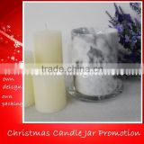 Luxury top soy white stone candle jar with lid                                                                         Quality Choice