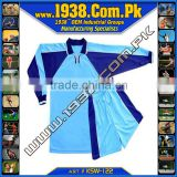Custom blank royal blue soocer kit soccer uniform