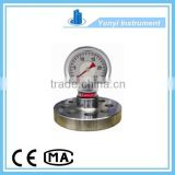 Oil well drilling mud pump pressure gauge system
