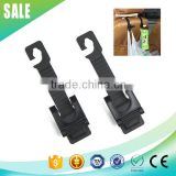 2015 Hot selling high quality ABS black car seat hook