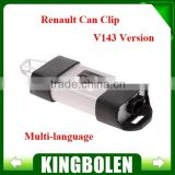2014 Wholesales Latest Version V143 Can Clip 19 Langauges For Renault Can Clip Diagnostic Interface