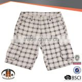 Bright Color Name Brand Clothing Cotton Polyester Fleece 3/4 Chino Cargo Mens shorts